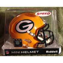 Nfl Green Bay Packers Mini Casco Modelo Speed By Riddell