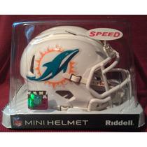 Nfl Miami Dolphins Mini Casco Modelo Speed By Riddell