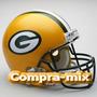 Casco Green Bay Packers Nfl Autentico Linea Pro, Vbf
