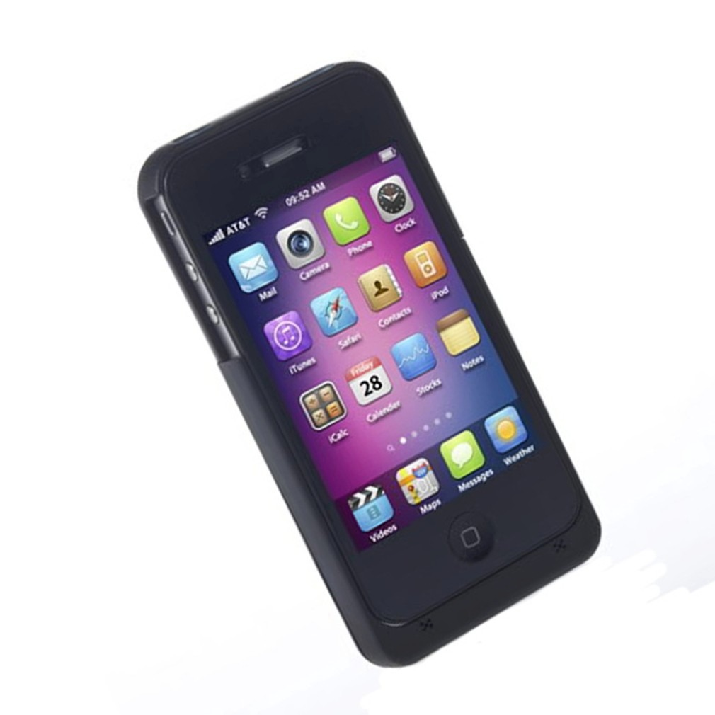 Case funda con bateria recargable iphone 4 y 4s color for Funda bateria iphone
