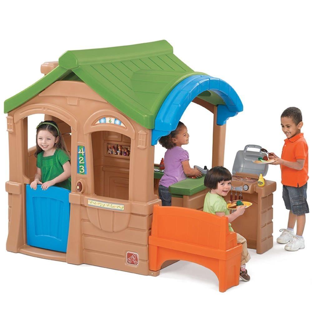 Casita juego casa infantil step2 ni os gather grille hm4 - Casas de juego para ninos ...