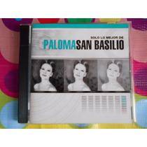 Paloma San Basilio Cd Solo Lo Mejor De.2004