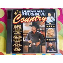 Lo Mejor De La Musica Country.cd.varios.