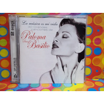 Paloma San Basilio Cd La Musica Es Mi Vida 2 Cds