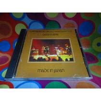 Deep Purple Cd Made In Japan, Usa,1973.