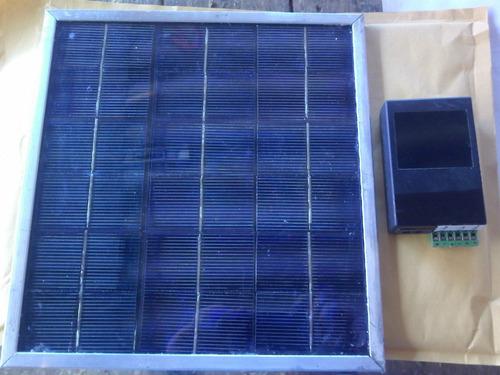 Celda Solar De 12 Volts A 200 Ma