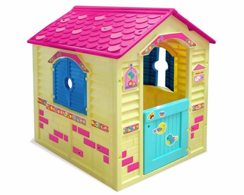 Centro de juegos casita para ni as divertida magica - Casa de juguetes para jardin ...