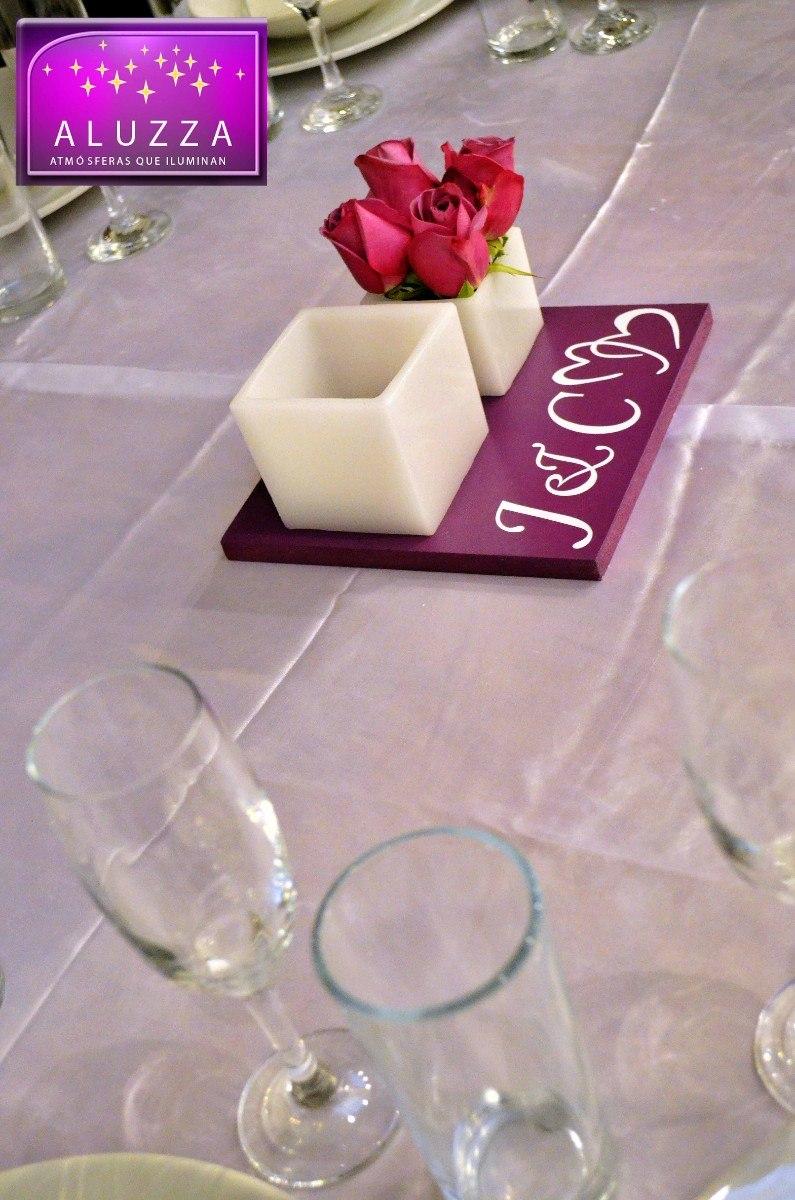 Centro de mesa con pantalla y florero para boda aluzza en mercadolibre - Precios de centros de mesa para boda ...