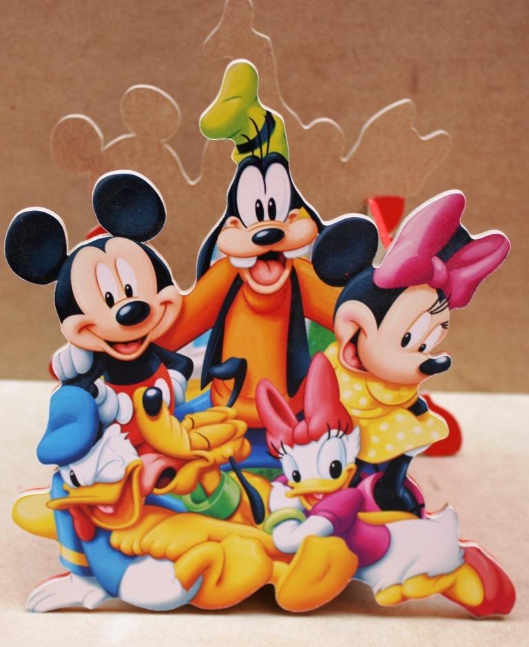 Centro De Mesa De Mickey Mouse Para Fiestas Infantiles - $ 84.00 ...
