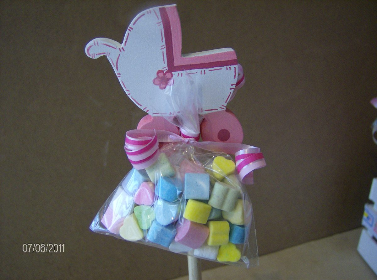 Manualidades para baby shower centros de mesa imagui for Centro de mesa baby shower