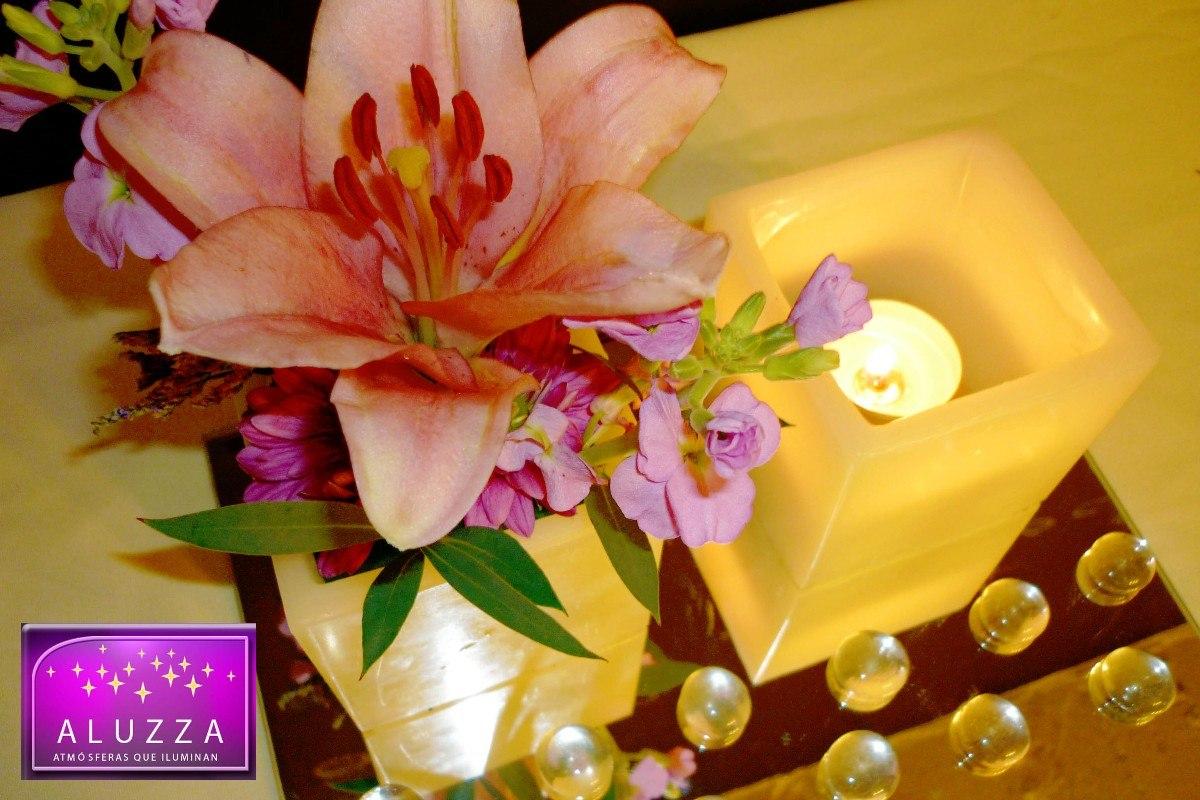 Centro de mesa para boda aluzza dmm en mercadolibre - Precios de centros de mesa para boda ...