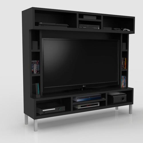 Centro Entretenimiento, Mueble Para Tv, Salas, Mobydec, Maa  $ 6,990
