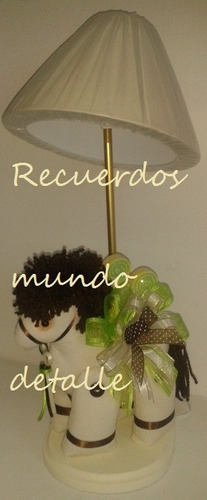 Centros De Mesa Bautizo, Baby Shower, Recuerdo, Caballo - $ 185.00 en