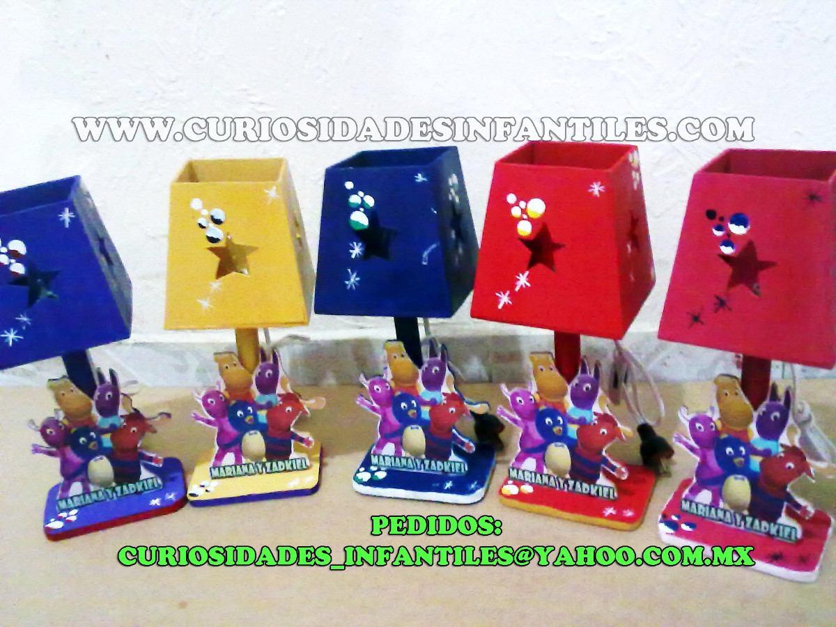 Centros de mesa en lamparas de mickey mouse car interior - Lamparas de mesita ...