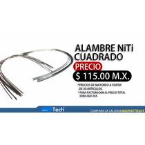Arco Cuadrado Niti, Material Ortodoncia