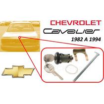 82-94 Chevrolet Cavalier Chapa Cajuela Llaves Color Negro