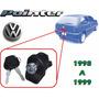 98-99 Volkswagen Pointer Chapa Para Cajuela Con Llaves