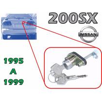 95-99 Nissan 200sx Chapa Para Cajuela Con Llaves