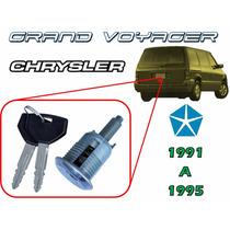 91-95 Chrysler Grand Voyager Chapa Para Cajuela Con Llaves