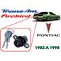 82-98 Pontiac Trans Am Firebird Chapa Para Cajuela Llaves