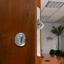 Cerradura P/puerta Corrediza, Ac Inox/alta Segurid Importada
