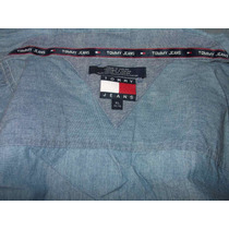 Chamarra Sport Tommy Jeans Con Logos,xl, $1200