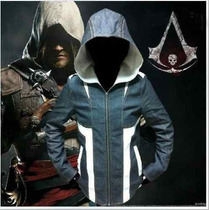 Chamarra Con Gorro De Edward Kenway Assassins Creed 4