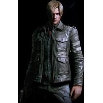 Chamarra De Piel Leon S Kennedy Resident Evil 6 Envio Gratis