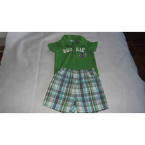 Conjunto Playera-short Marca Just One You Talla 12 Meses