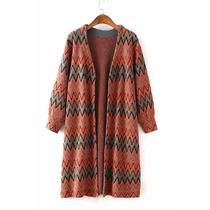 Suku 81100 Bonito Abrigo Decorado Zigzag Moda Asia $819