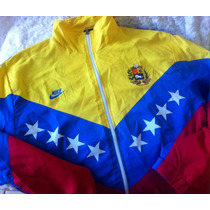 Conjunto Chaqueta Y Pantalon Vzla Tricolor Talla L Grande