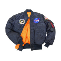 Chamarra Aviador Nasa Ma-1 Marca Alpha Industries Original