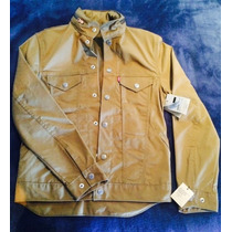 Chamarra Levi´s Commuter Trucker Jacket Cougar Canvas