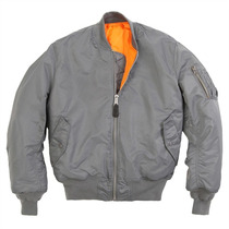 Chamarra Alpha Industries Ma-1 Dif Colores Militar Aviador