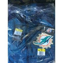 Chamarra Nike Miami Dolphins Champ Drive Hybrid Half-zip