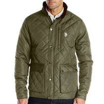 Chamarra Us Polo Assn - Diamond Quilted Jacket