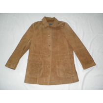Fino Jacket Blazer Chamarra Abrigo 100% Piel Mujer L 36 - 38