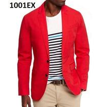 M - Saco Rojo Express Ropa De Hombre 100% Original