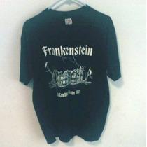 Playera Vintage 1992 De Frankenstein Talla L Rock,hipster