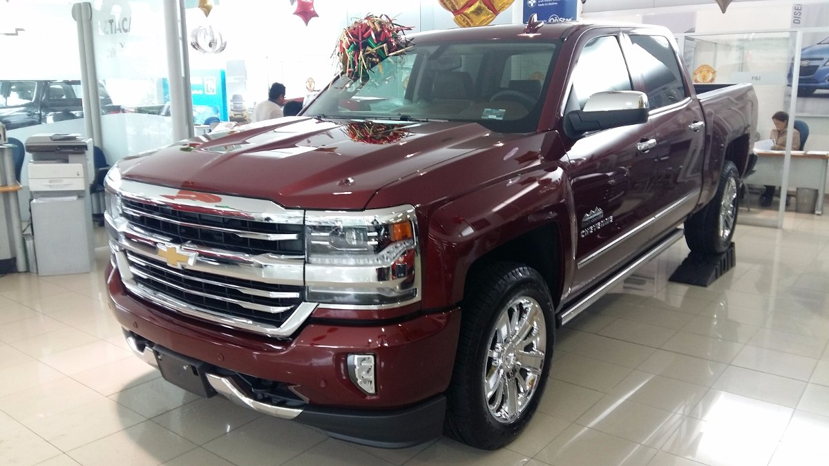 2016 chevrolet silverado high autos post. Black Bedroom Furniture Sets. Home Design Ideas