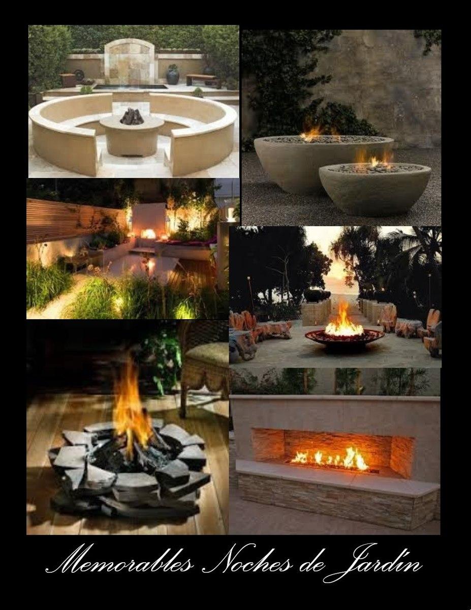 Chimenea calefaccion calentador etanol marmol fogata - Calefaccion por chimenea ...
