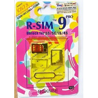 R-sim 9 Pro Original Iphone 4s Y 5 Sprint Verizon Telcel