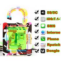 R-sim Mini 2 Gevey Rsim Iphone 4s 5 5s5c Distribuidoroficial