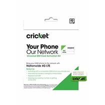 Cricket Wireless Nano Sim Card Nuevo, Envio Dhl Gratis!