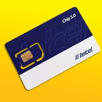 Chip Telcel Con 100 Y Con 300 De Saldo