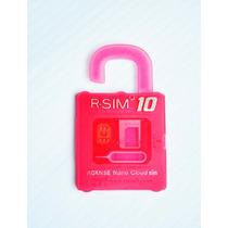 Rsim Sim 10 Gevey Ios 8 Iphone 6, 6+,5, 5c, 5s,5,4s Original