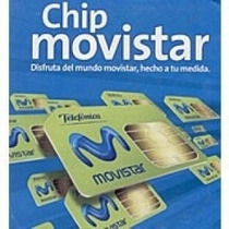 Chip Movistar Chips Nuevos Mayoreo Originales
