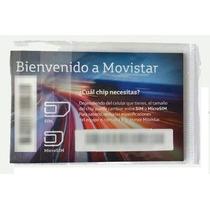 Chip Sim Movistar Multiregion Con 120 Minutos Ta