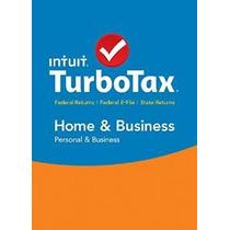 Turbotax Home & Business 2015 + Estado Federal De Impuestos