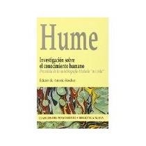 Libro Investigacion Sobre El Conocimiento Humano